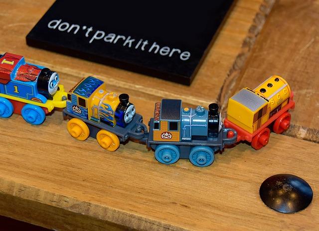 zabawy dla dzieci na urodziny - urodzinowy pociąg