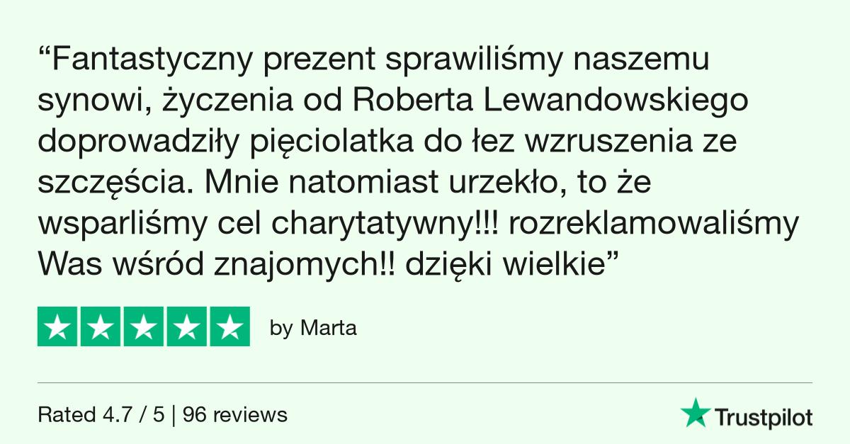 Trustpilot Review - Marta